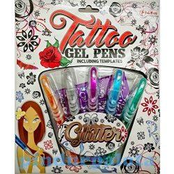 Tetováló toll-csillámos