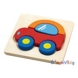 Magasított puzzle-Autó