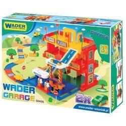 Wader 3 szintes garázs játszóterülettel-Wader