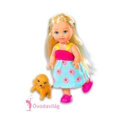 Évi Love édes kiskutyával