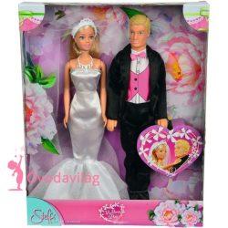 Steffi Love esküvői pár