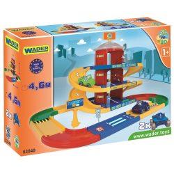 Wader Kid Cars 3D háromszintes parkolóház
