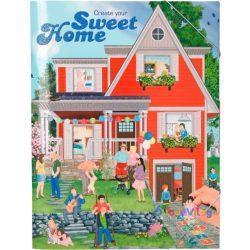 Sweet Home-Otthontervező matricás könyv