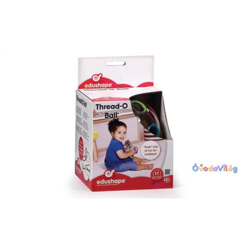 Fűzögetős játék színes zsinórokkal  Oball