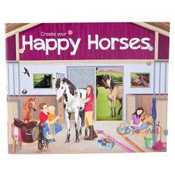 Lovas matricás füzet-Happy Horses