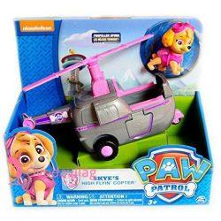 Mancs Őrjárat: Skye helikoptere játékfigurával