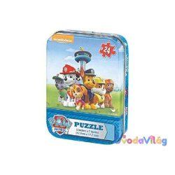 Mancs őrjárat mini puzzle fém dobozban