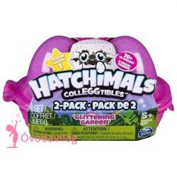 Hatchimals két tojás tartóban