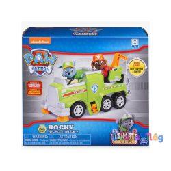 Mancs Őrjárat: Ultimate Rescue Rocky és hulladékgyűjtő autója - Spin Master - ovodavilag.hu
