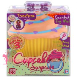 Cupcake meglepetés sütibaba - Piper