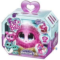 Fur Balls Pink plüss figura