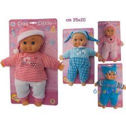 Újszülött puha testű baba
