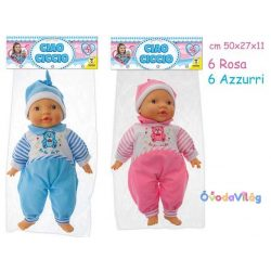 Újszülött puha testű játékbaba