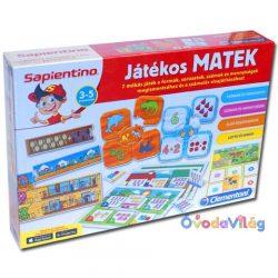 Játékos matek fejlesztőjáték Sapientino-ovodavilag.hu