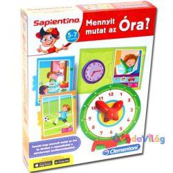 Sapientino mennyit mutat az óra oktatójáték-ovodavilag.hu