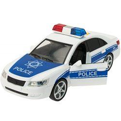 Rendőrautó hanggal és fénnyel