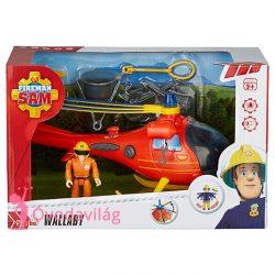 Sam a tűzoltó játék helikopter