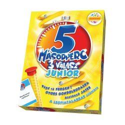 5 Másodperc 3 válasz-Junior társasjáték