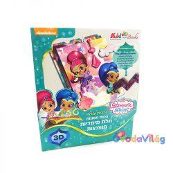 Shimmer & Shine 3D Kepkeszito Kiddo Books-ovodavilag.hu