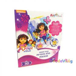 Dóra és barátai 3D képkészítő-Kiddo Books-ovodavilag.hu