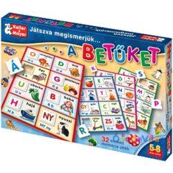 Játszva megismerjük a betűket társasjáték
