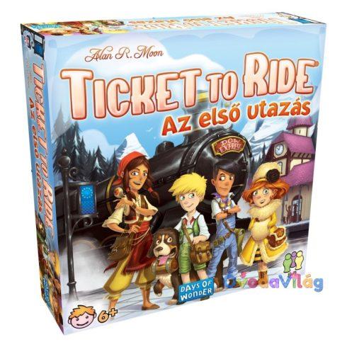 Ticket To Ride Az első utazás társasjáték - ovodavilag.hu