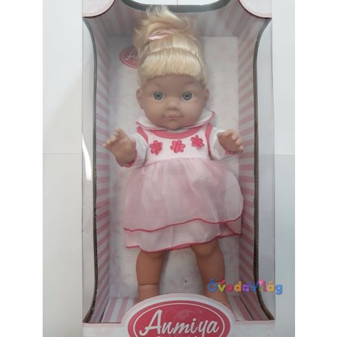 Játékbaba hajas baba Anmiya-ovodavilag.hu