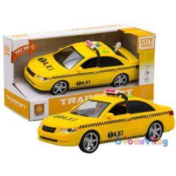 Játékautó Taxi hanggal és fénnyel