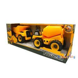 Szerelős munkagépek traktor és markoló
