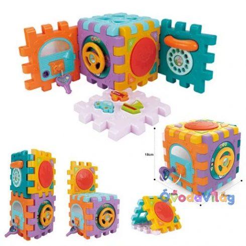 Activity Cube Készségfejlesztő baba játék