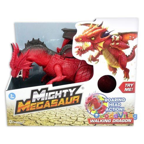 Dragon-i Hatalmas Megasaurus, lépdelő és üvöltő - Sárkány