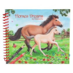 Horses Dreams zsebkifestő tervező füzet - ovodavilag.hu
