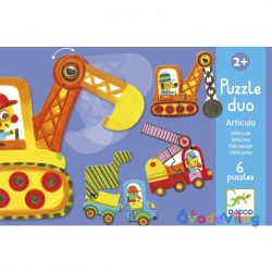 Párosító puzzle-Munkagépek