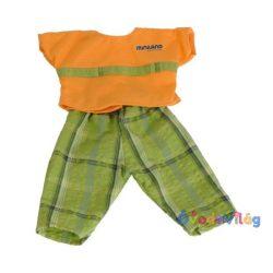 Fiú ruha 40cm-es babához Miniland-ovodavilag.hu
