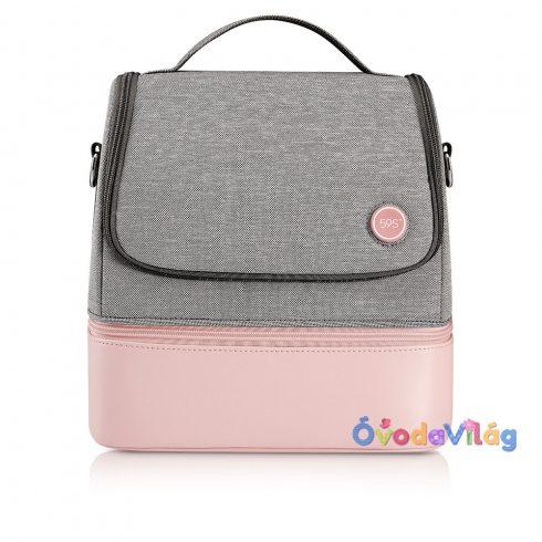 Sterilizáló kismama táska rózsaszín 59S P14 UVC LED