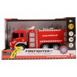 Játék tűzoltóautó hanggal és fénnyel