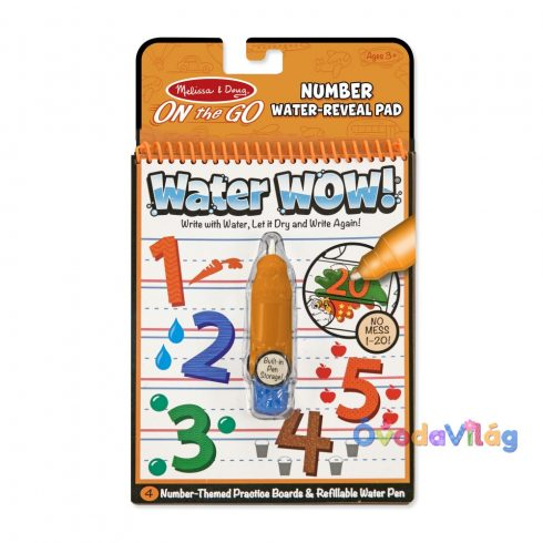 Melissa & Doug Kreatív játék Rajzolás vízzel számok