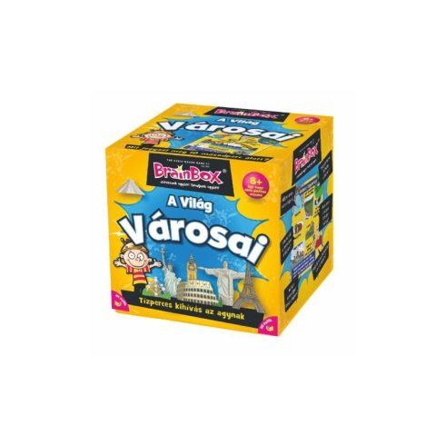 Brainbox- A világ városai társasjáték