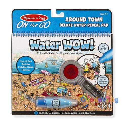 Melissa & Doug Kreatív játék Rajzolás vízzel deluxe a város körül - ovodavilag.hu