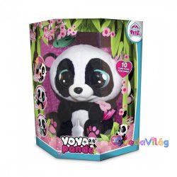 Yoyo panda interaktív plüss