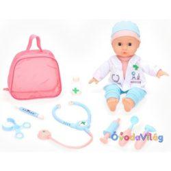 Játékbaba doktor szettel interaktív-ovodavilag.hu