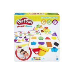 Play Doh:színek és formák gyurmakészlet
