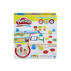 Play-Doh:Számok és számolás gyurmakészlet
