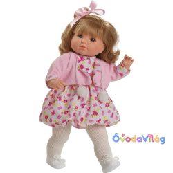 Berbesa Sandra pomponos beszélő baba