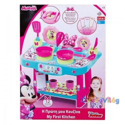 Disney Minnie egér játékkonyha 12 kiegészítővel-ovodavilag.hu