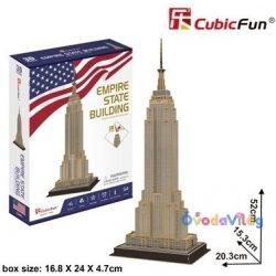 CubicFun 3D puzzle Empire State Building-ovodavilag.hu