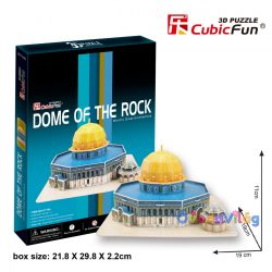 CubicFun Dome of the Rock 3D puzzle-ovodavilag.hu