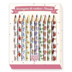 Mini színes ceruza 10 szín