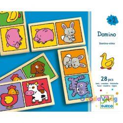 Domino játék Állatos - Djeco-ovodavilag.hu