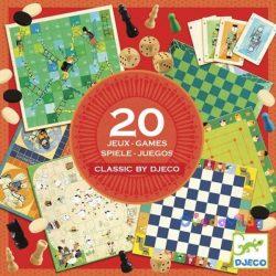 Társasjáték klasszikus - Classic box - 20 játék -ovodavilag.hu
